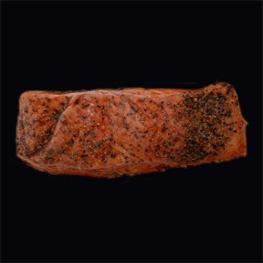 Hot-Smoked Baked (Kippered) Salmon, 4oz packs