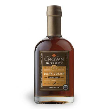Crown Maple® Dark Color Robust Taste Maple Syrup, 375ML