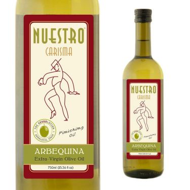 NUESTRO Carisma Arbequina Extra-Virgin Olive Oil from Spain, 750ml