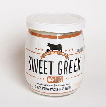 Argyle Cheese Farm Sweet Greek Yogurt - Vanilla, 4.35oz