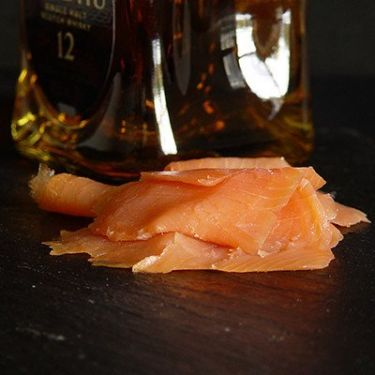 Imported 12-Year-Old Malt Scotch Whiskey Smoked Salmon
