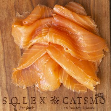 Catsmo Gold Label Smoked Salmon, 8oz