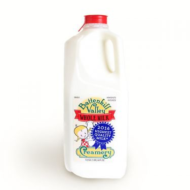 Milk, Whole, Half Gallon