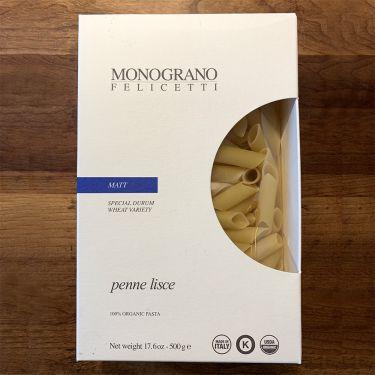 Felicetti Pasta Monograno - Matt Grain Variety Penne, 500g box
