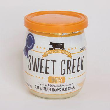 Argyle Cheese Farm Sweet Greek Yogurt - Honey, 4.35oz
