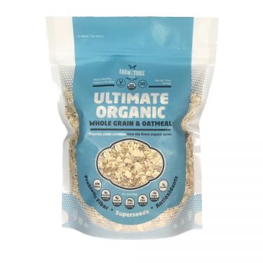 Farm to Table Foods: Ultimate Organic Oatmeal, 16oz