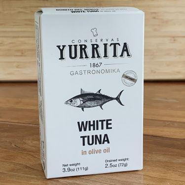 Yurrita White Tuna in Olive Oil, 111g Tin